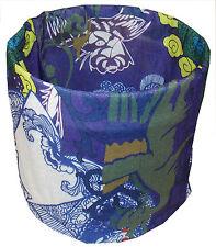 Tropical Flower Fancy Tubular Multi Function Headwear Balaclava Beanie Cap Scarf