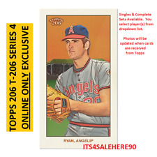 2020 Topps 206 T206 Online Exclusive Wave Series 4 (50 Cards) SINGLES OR SET