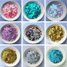 About 4000pcs Round Loose Sequins Paillettes Clothes Sewing Wedding DIY Craft