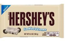 Hershey's Cookies N Cream Bar Candy Bar Large Giant Chocolate and