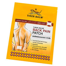 Tiger Balm Back Pain Patch Strechable Sore Aching Back Relief 10 x14 cm
