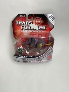 Transformers Universe Scout Class Backstop Action Figure. Free Shipping