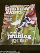 BBC - GARDENERS WORLD - AUTUMN PRUNING ESSENTIALS - NOV 2012