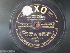 78rpm LANDING of the british army in france 1&2 EXO 380