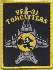 US Navy VFA-31 Strike Fighter Squadron 31 Tomcatters Embroidered Patch Badge *