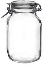 Set 6 barattoli vetro fido bormioli da ml 5000 vaso litri 5 con caspula ermetica