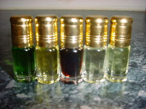 *SPECIAL OFFER* ANY 5 x 3ML PERFUME OIL ATTAR FOR £7.00 - CHOOSE SELECTION!
