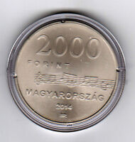HUNGARY 2014 Egressy Béni Music nominal 2000 FT. UNC coin ONLY
