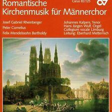 ROMANTISCHE KIRCHENMUSIK F?R M?NNERCHOR (NEW CD)