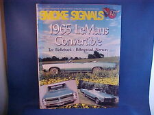 1965 Lemans, 1956 Chieftain, 1998 Bonneville featured in POCI Smoke Signals 5-98
