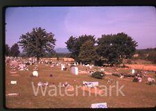 1962 35mm Kodak Kodachrome photo slide Coop Prarie Cemetery Mansfield AR #2