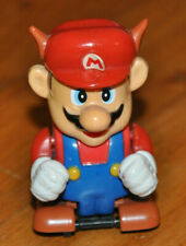 RARE Super Mario Bros 3 Raccoon pull back Nintendo NES 80s 90s rolling figure