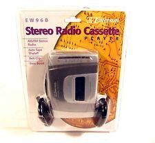 NEW Emerson EW96B AM FM Walkman Stereo Cassette Tape Player Sealed Auto Shutoff