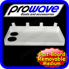 Bait board for tinnie, removable, top only - 700 wide - White