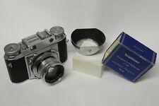 Voigtländer Prominent mit Septon 2,0 / 50 mm Objektiv Sammlerstück