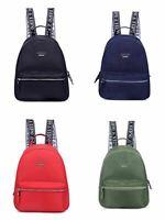 Women's Kaplan Backpack Nylon & Denim 4 Colors One Size Bags NWT NL724130
