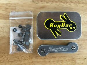 KeyBar Key Organizer (Stainless Steel)