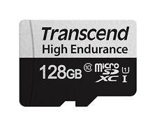 128GB Transcend High Endurance 350V microSDXC Memory Card CL10 UHS-I