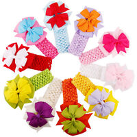 Fashion Baby Girl Headbands Bowknot  Hair Accessories For Girls Infant Hair Band