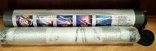NEW Leitz Easyflip 7000 Portable Flip Chart Presentation Case Strap Paper Roll