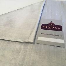 "Pure 100% Silk Handloom Dupion Fabric 44"" Wide Sold By Half Metre M685 1-60"
