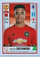 Panini premier league 2020 rare rookie football sticker - #397 Mason Greenwood