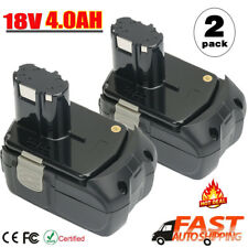 2 X 4.0Ah BCL1815 Battery 18V Li-ion For HITACHI BCL1820 BCL1830 BCL1840 EBM1830