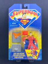 Superman the Animated Series X-Ray Vision Superman Action Figure Kenner New