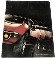 There's No Mistaking a Corvette Vintage Ad 1969