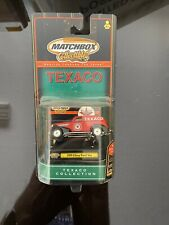 Matchbox Collectibles Texaco Collection 1939 Chevy Panel Van Red