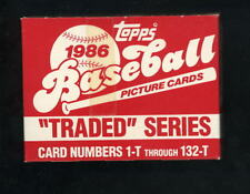 1986 Topps Traded Complete Set in Original Unopened Box Barry Bonds Will Clark