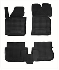 Rubber Car Floor Mats All Weather Alfombras Goma Carmats VW CADDY 2004-2014