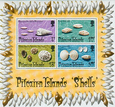 Pitcairn 1974 Shells mini sheet unmounted mint
