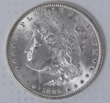 1888 US Mint Morgan Silver $1 Dollar Choice Brilliant Uncirculated BU Coin
