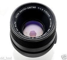 Kern Macro Switar 50 mm C f/1.9 Lens ALPA M42 Mount Excellent+++ Condition