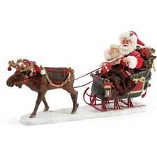 Department 56 Possible Dreams Christmoosetime Santa Christmas Figurine 6003856