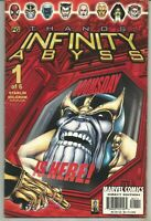 Thanos : Infinity Abyss #1 : August 2002 : Marvel Comics