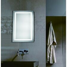 "Led Electric Mirror Rectangle W20""H40"" Dimmable 5000K"