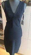 New Calvin Klein Black Bandage Cocktail Dress M