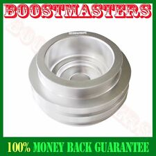 For  88-00 Civic B16A VTEC EMUSA Aluminum Performance Silver Crank Pulley