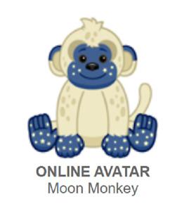 Webkinz Classic Moon Monkey *Code Only*