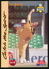 1996 Western Warriors Jo Angel Cricket card Town and Country Bank