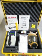 Victoreen 450chp Ion Chamber Survey Meter Amp Saic Self Reading Dosimeter Msa Mask