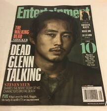 WALKING DEAD SHOCKER DEAD GLENN STEVEN YEUN ENTERTAINMENT WEEKLY NOVEMBER 2016