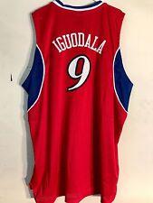 Adidas Swingman NBA Jersey Philadelphia 76ers Andre Iguodala Red Phila sz 2X