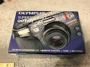 Boxed Olympus Zoom 110 Remote Control And Case