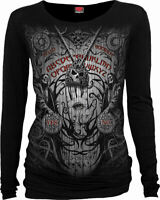 Spiral Direct SPIRIT BOARD Womens Long Sleeve, Goth, Rock, Occult, Top, Clothing