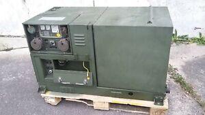 Stromaggregat Stromerzeuger 6,5kW Deutz Diesel Stromi Bundeswehr BW Generator