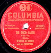 "WOODY HERMAN! - ""THE GOOD EARTH"" B/W ""SURRENDER"" COL-36985 MONO 78 VG-!!"