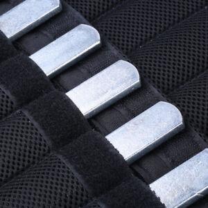 Krafttraining Gewicht Stahlplatte für Weste verstellbar Rundkopf rostfrei